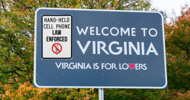 Blog post Virginia's New Hands-Free Cellphone Driving Law Enforced Jan. 1st