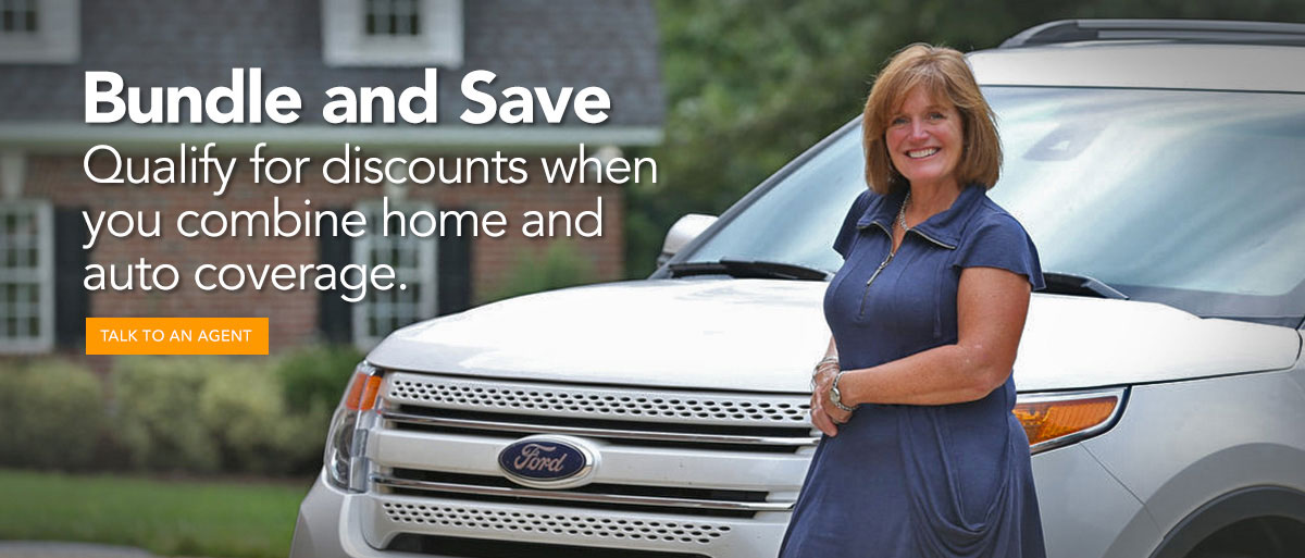 Qualify for discounts when you combine home and auto coverage